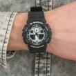 Casio férfi óra - GA-100BW-1AER - G-Shock Basic