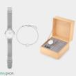Cluse női óra + karkötő - CLG011 - Minuit Heart