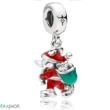 Pandora Mickey Mikulás charm - 797501ENMX