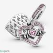 Pandora szív és anya függő - 799402C01