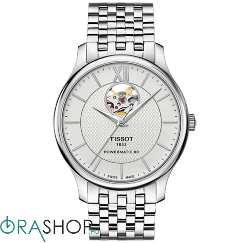 Tissot férfi óra - T063.907.11.038.00 - Tradition Automatic Open Heart
