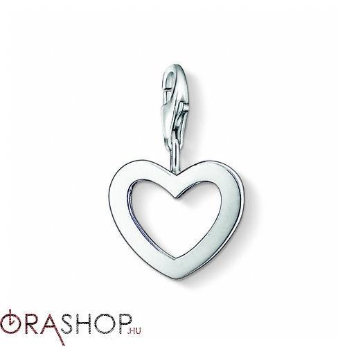Thomas Sabo szív charm - 0763-001-12