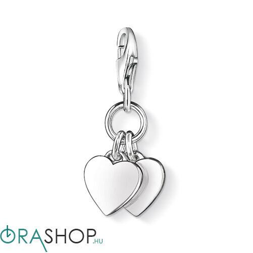 Thomas Sabo szívek charm - 0836-001-12