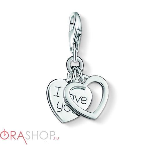 Thomas Sabo szeretlek charm - 0852-001-12