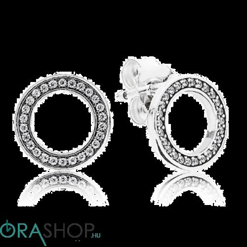 Pandora ezüst fülbevaló - 290585cz