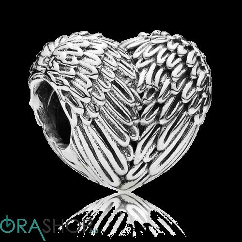 Pandora angyalszárny charm - 791751