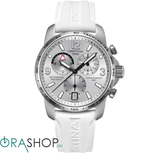 Certina férfi óra - C001.639.97.037.00 - DS Podium Chronograph GMT Aluminium