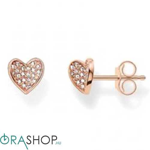 Thomas Sabo szív alakú fülbevaló - H1863-416-14