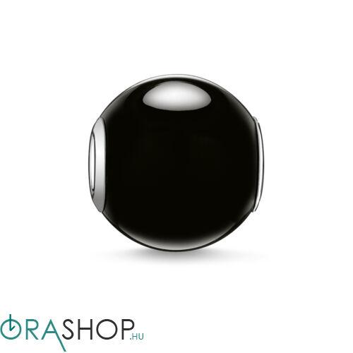 Thomas Sabo obszidián gyöngy - K0002-023-11