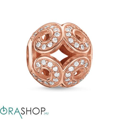 Thomas Sabo rozéarany gyöngy - K0027-416-14