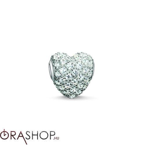 Thomas Sabo szív gyöngy - K0081-051-14