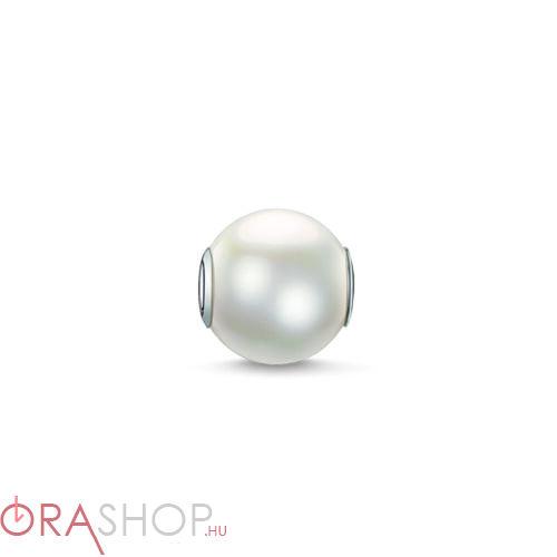 Thomas Sabo fehér gyöngy - K0083-082-14