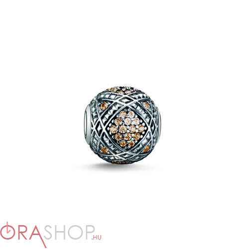 Thomas Sabo barna gyöngy - K0087-643-3
