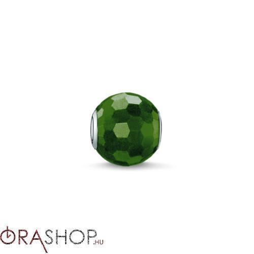 Thomas Sabo zöld gyöngy - K0090-652-6