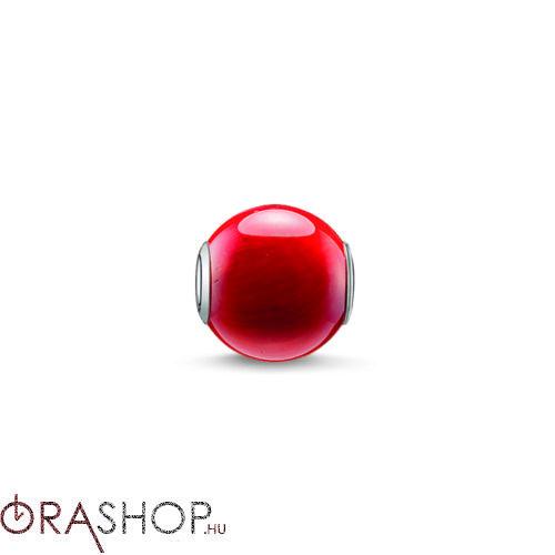 Thomas Sabo piros gyöngy - K0092-590-10
