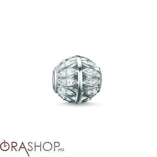 Thomas Sabo fehér gyöngy - K0095-051-14