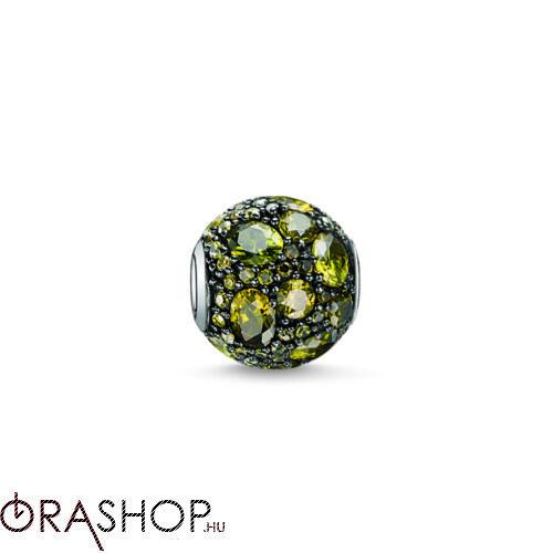Thomas Sabo zöld cirkóniás gyöngy - K0103-643-6