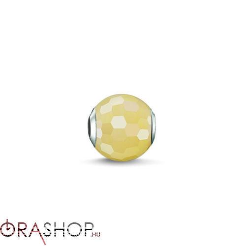 Thomas Sabo sárga korall gyöngy - K0127-010-4
