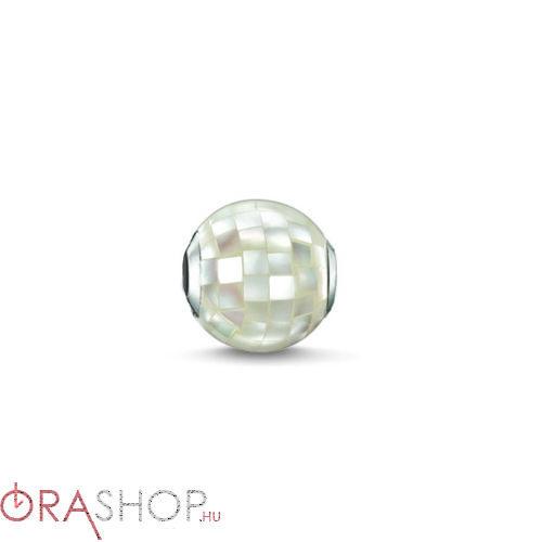 Thomas Sabo fehér gyöngy - K0129-029-14
