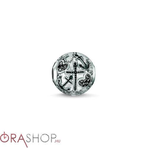 Thomas Sabo cirkónia díszes gyöngy - K0138-643-11