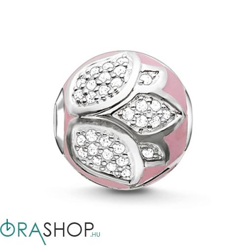 Thomas Sabo rózsaszín lótuszvirág gyöngy - K0203-041-9