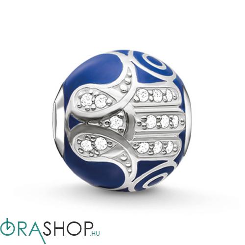 Thomas Sabo kék Fatima keze gyöngy - K0207-041-32