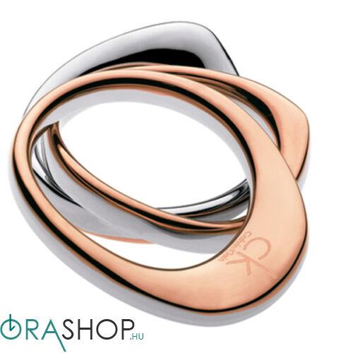 Calvin Klein gyűrű - KJ1APR2001 - Undulate