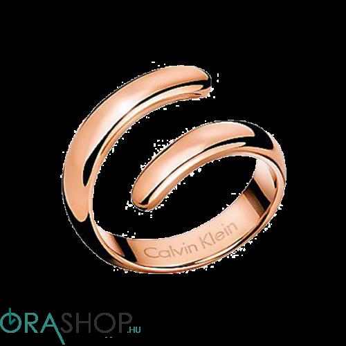 Calvin Klein gyűrű - KJ2KPR1001 - Embrace