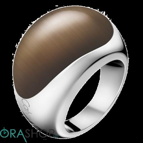 Calvin Klein gyűrű - KJ3QCR020106 - Ellipse