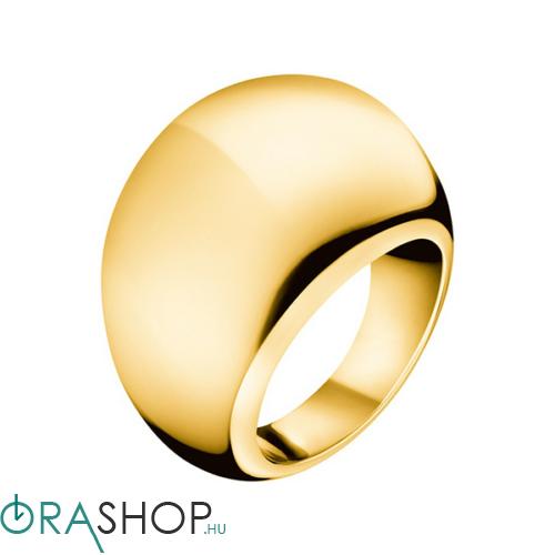 Calvin Klein gyűrű - KJ3QJR100106 - Ellipse