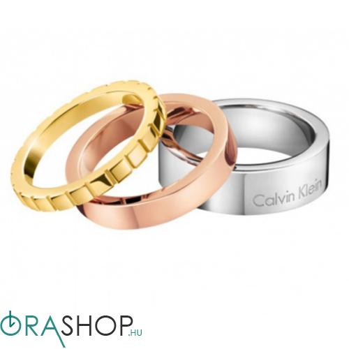 Calvin Klein gyűrű - KJ4VDR300206 - Wonder