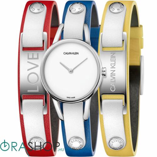 Calvin Klein női óra + karkötő - K9D231VX - #mycalvins