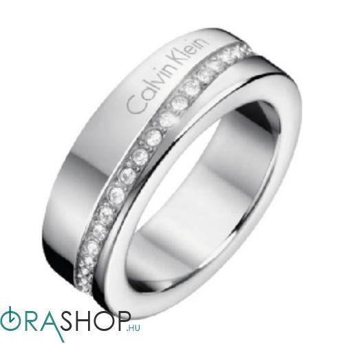 Calvin Klein gyűrű - KJ06MR040205 - Hook