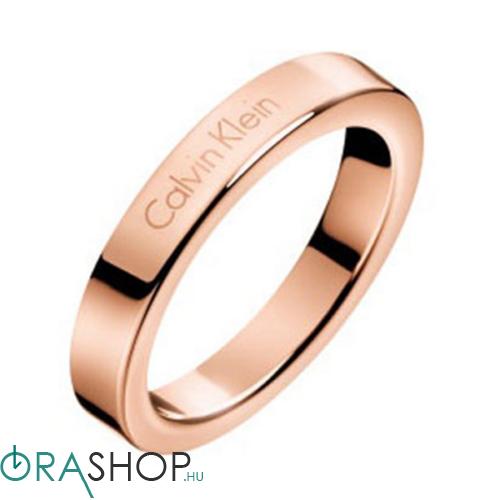 Calvin Klein gyűrű - KJ06PR100105 - Hook