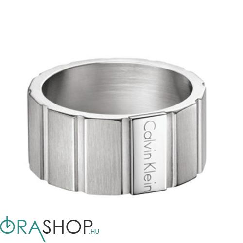 Calvin Klein gyűrű - KJ5SMR080109 - Plate