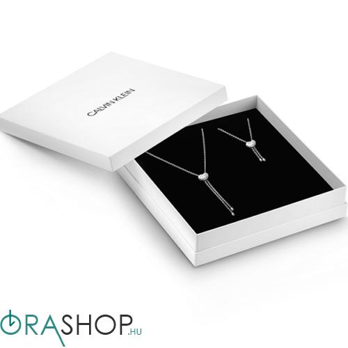 Calvin Klein Valentin napi nyaklánc + karkötő szett - KJ9999999974