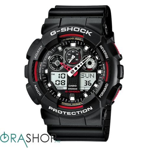 Casio férfi óra - GA-100-1A4ER - G-Shock Basic