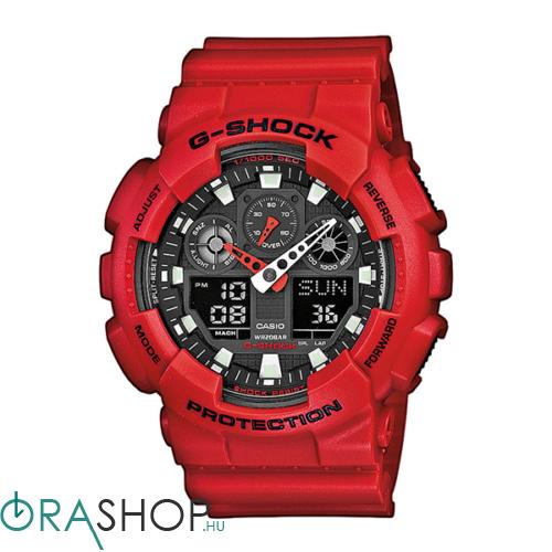 Casio férfi óra - GA-100B-4AER - G-Shock Basic