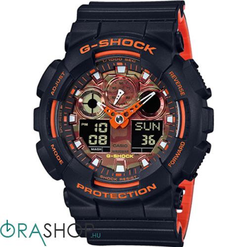 Casio férfi óra - GA-100BR-1AER - G-Shock Basic
