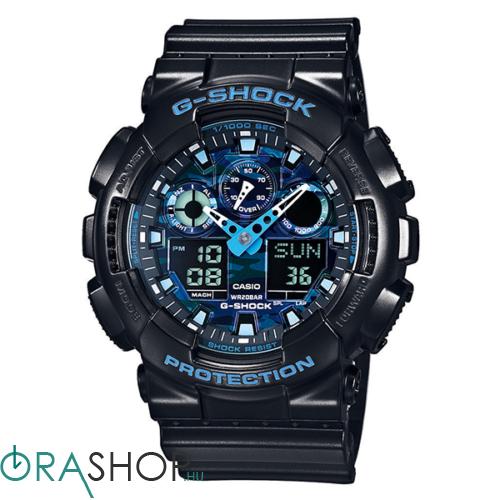 Casio férfi óra - GA-100CB-1AER - G-Shock Basic