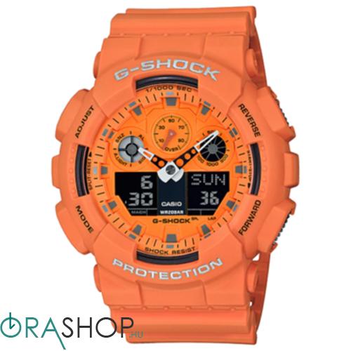 Casio férfi óra - GA-100RS-4AER - G-Shock Basic