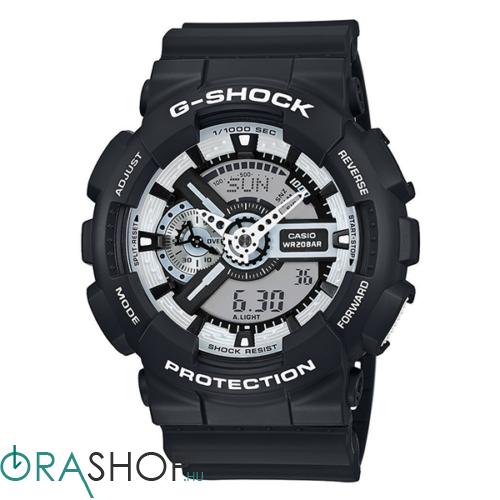 Casio férfi óra - GA-110BW-1AER - G-Shock Basic