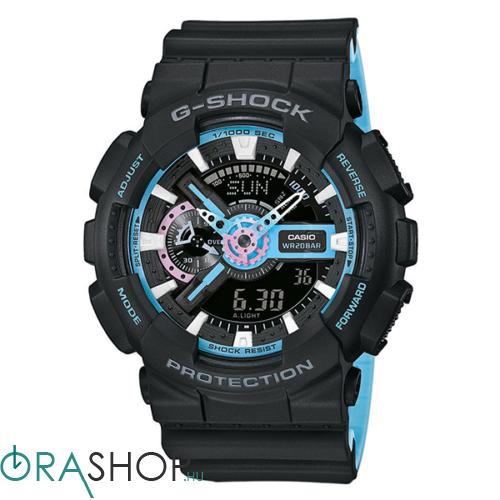 Casio férfi óra - GA-110PC-1AER - G-Shock Basic