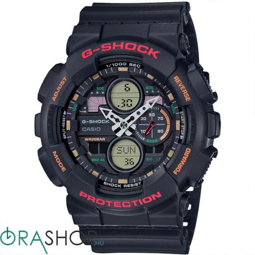 Casio férfi óra - GA-140-1A4ER - G-Shock basic
