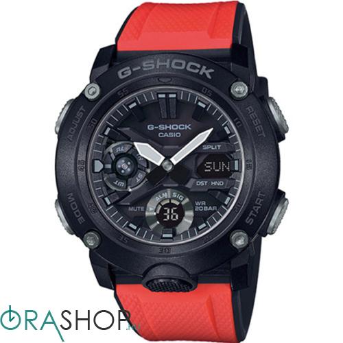 Casio férfi óra - GA-2000E-4ER - G-Shock Basic