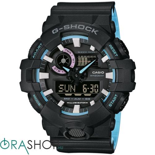 Casio férfi óra - GA-700PC-1AER - G-Shock Basic