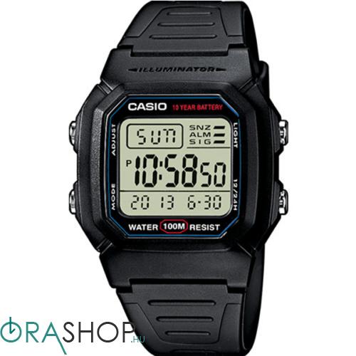 Casio férfi óra - W-800H-1AVES - Collection