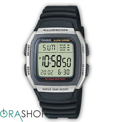 Casio férfi óra - W-96H-1AVES - Collection