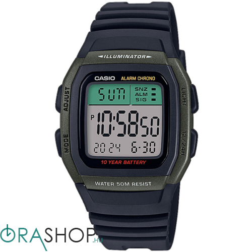 Casio férfi óra - W-96H-3AVEF - Collection