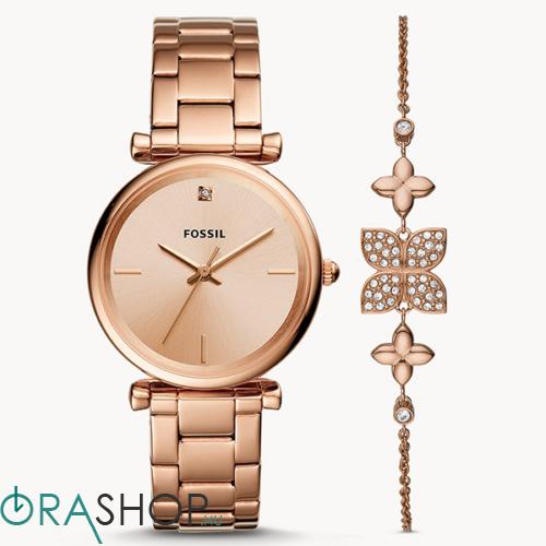 Fossil női óra + karkötő - ES4685SET - Carlie